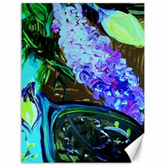 Lilac And Lillies 1 Canvas 12  X 16   by bestdesignintheworld