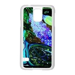 Lilac And Lillies 1 Samsung Galaxy S5 Case (white)