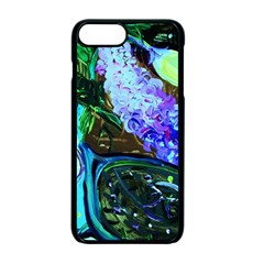 Lilac And Lillies 1 Apple Iphone 7 Plus Seamless Case (black)