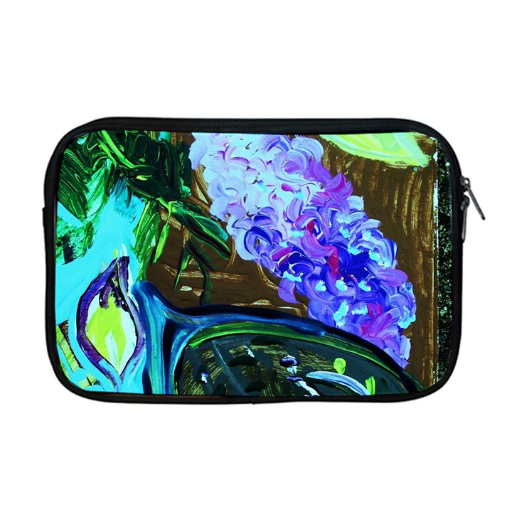 Lilac And Lillies 1 Apple MacBook Pro 17  Zipper Case