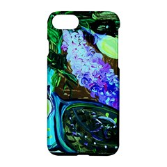 Lilac And Lillies 1 Apple Iphone 8 Hardshell Case