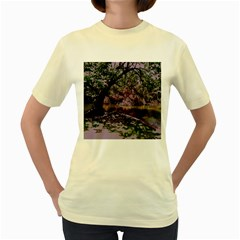Hot Day In Dallas 31 Women s Yellow T Shirt