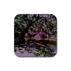 Hot Day In Dallas 31 Rubber Coaster (square)  by bestdesignintheworld