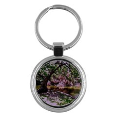 Hot Day In Dallas 31 Key Chains (round)  by bestdesignintheworld