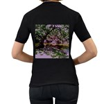 Hot Day In Dallas 31 Women s T-Shirt (Black) (Two Sided) Back