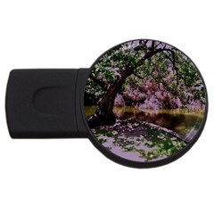 Hot Day In Dallas 31 Usb Flash Drive Round (4 Gb) by bestdesignintheworld