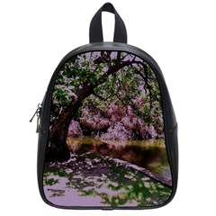 Hot Day In Dallas 31 School Bag (small) by bestdesignintheworld