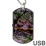 Hot Day In Dallas 31 Dog Tag USB Flash (One Side) Front