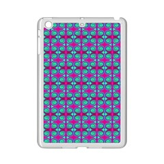 Pink Green Turquoise Swirl Pattern Ipad Mini 2 Enamel Coated Cases