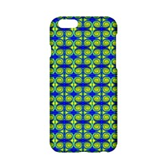 Blue Yellow Green Swirl Pattern Apple Iphone 6/6s Hardshell Case by BrightVibesDesign