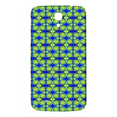 Blue Yellow Green Swirl Pattern Samsung Galaxy Mega I9200 Hardshell Back Case by BrightVibesDesign