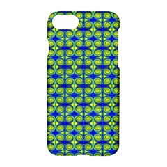 Blue Yellow Green Swirl Pattern Apple Iphone 7 Hardshell Case by BrightVibesDesign