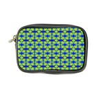 Blue Yellow Green Swirl Pattern Coin Purse Front
