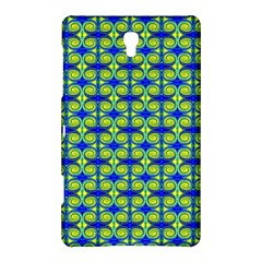 Blue Yellow Green Swirl Pattern Samsung Galaxy Tab S (8 4 ) Hardshell Case  by BrightVibesDesign