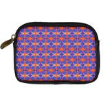 Blue Orange Yellow Swirl Pattern Digital Camera Cases Front