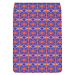 Blue Orange Yellow Swirl Pattern Flap Covers (L)  Front