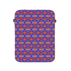 Blue Orange Yellow Swirl Pattern Apple Ipad 2/3/4 Protective Soft Cases by BrightVibesDesign