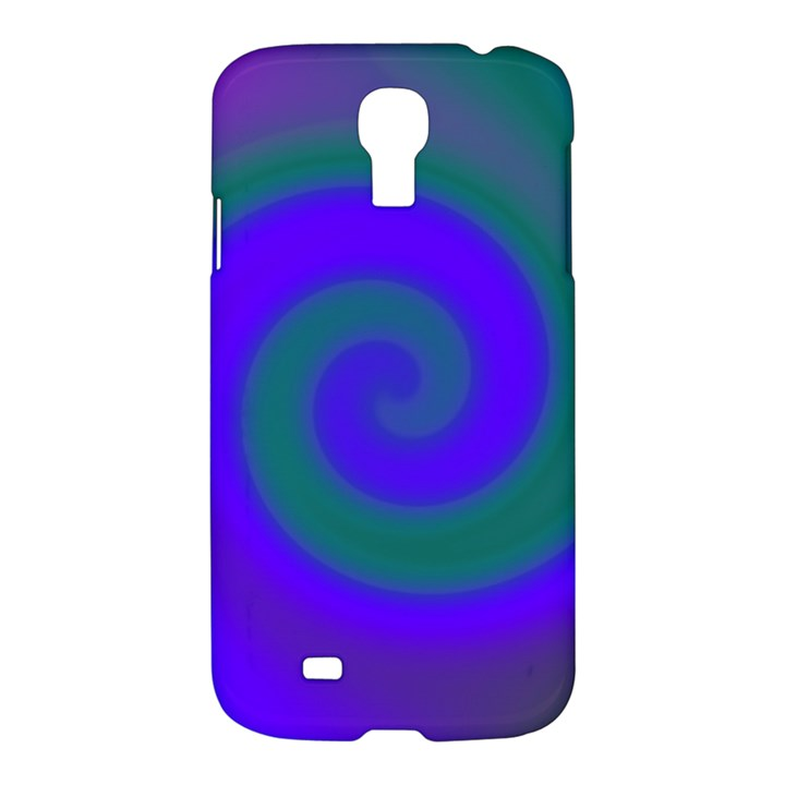 Swirl Green Blue Abstract Samsung Galaxy S4 I9500/I9505 Hardshell Case