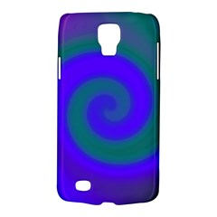 Swirl Green Blue Abstract Galaxy S4 Active by BrightVibesDesign