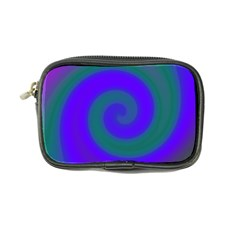 Swirl Green Blue Abstract Coin Purse