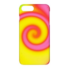 Swirl Yellow Pink Abstract Apple Iphone 7 Plus Hardshell Case
