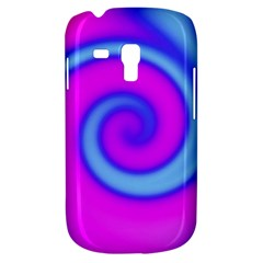 Swirl Pink Turquoise Abstract Galaxy S3 Mini by BrightVibesDesign