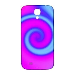 Swirl Pink Turquoise Abstract Samsung Galaxy S4 I9500/i9505  Hardshell Back Case by BrightVibesDesign
