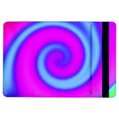 Swirl Pink Turquoise Abstract Ipad Air 2 Flip by BrightVibesDesign