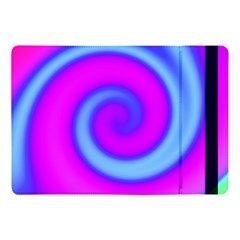 Swirl Pink Turquoise Abstract Apple Ipad Pro 10 5   Flip Case by BrightVibesDesign
