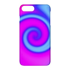 Swirl Pink Turquoise Abstract Apple Iphone 8 Plus Hardshell Case by BrightVibesDesign