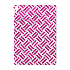 Woven2 White Marble & Pink Leather (r) Apple Ipad Pro 10 5   Hardshell Case