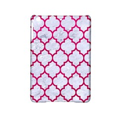 Tile1 White Marble & Pink Leather (r) Ipad Mini 2 Hardshell Cases by trendistuff