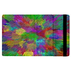 Colorful Patern Art Rainbow Apple Ipad Pro 12 9   Flip Case by goodart