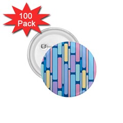 Retro Blocks 1 75  Buttons (100 Pack)