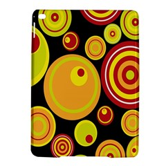 Retro Circles Background Yellow Ipad Air 2 Hardshell Cases by goodart