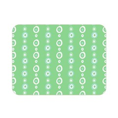 Retro Green Pattern Double Sided Flano Blanket (mini)