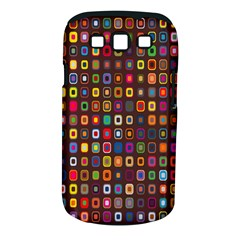 Retro Pattern Samsung Galaxy S Iii Classic Hardshell Case (pc+silicone) by goodart