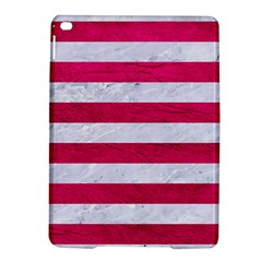 Stripes2white Marble & Pink Leather Ipad Air 2 Hardshell Cases by trendistuff