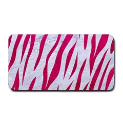 Skin3 White Marble & Pink Leather (r) Medium Bar Mats by trendistuff