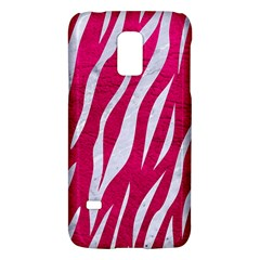 Skin3 White Marble & Pink Leather Galaxy S5 Mini by trendistuff