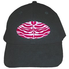 Skin2 White Marble & Pink Leather Black Cap by trendistuff