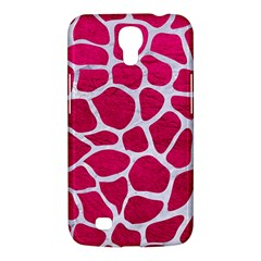 Skin1 White Marble & Pink Leather (r) Samsung Galaxy Mega 6 3  I9200 Hardshell Case by trendistuff