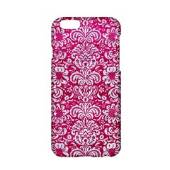Damask2 White Marble & Pink Leather Apple Iphone 6/6s Hardshell Case by trendistuff