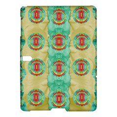 Peace Will Be In Fantasy Flowers With Love Samsung Galaxy Tab S (10 5 ) Hardshell Case