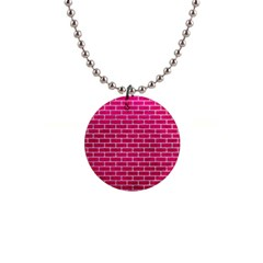 Brick1 White Marble & Pink Leather Button Necklaces by trendistuff