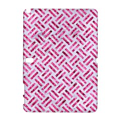 Woven2 White Marble & Pink Marble (r) Galaxy Note 1 by trendistuff