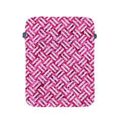 Woven2 White Marble & Pink Marble Apple Ipad 2/3/4 Protective Soft Cases by trendistuff