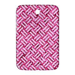 Woven2 White Marble & Pink Marble Samsung Galaxy Note 8 0 N5100 Hardshell Case  by trendistuff