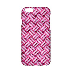 Woven2 White Marble & Pink Marble Apple Iphone 6/6s Hardshell Case by trendistuff