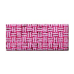 Woven1 White Marble & Pink Marble Hand Towel